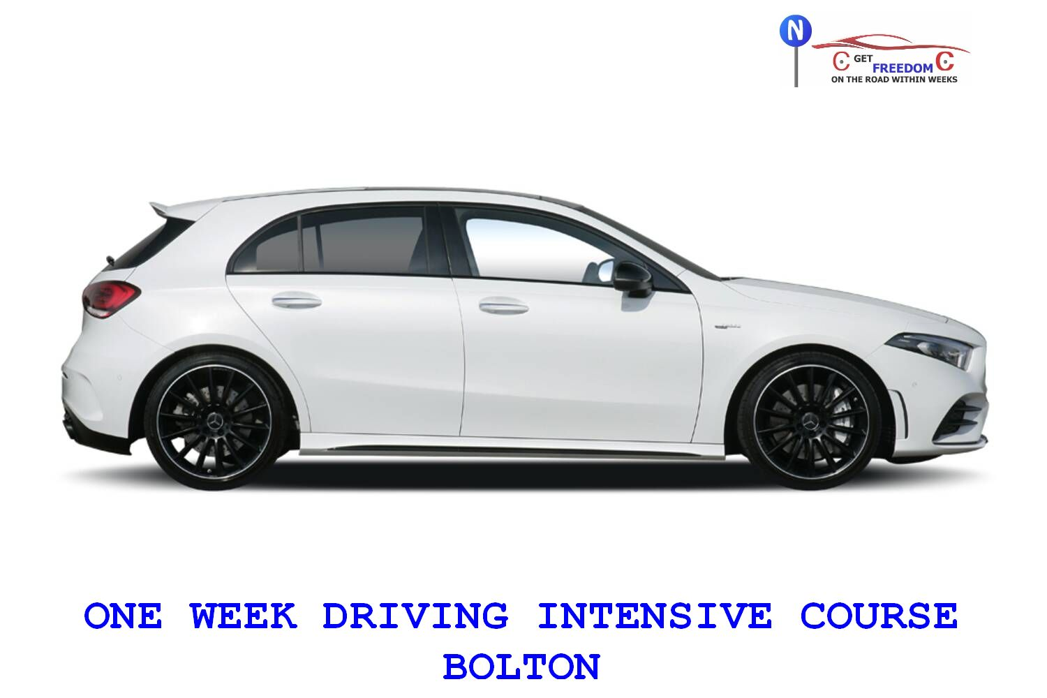 ONE WEEK DRIVING INTENSIVE COURSE BOLTON